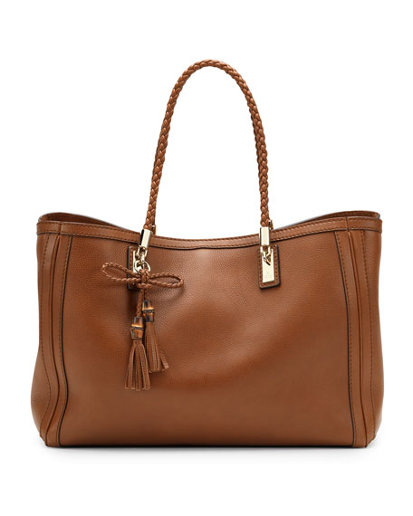 Bella Medium Tote Bag, Cuir