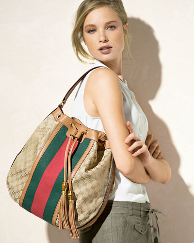 Gucci Rania Drawstring Shoulder Bag 115