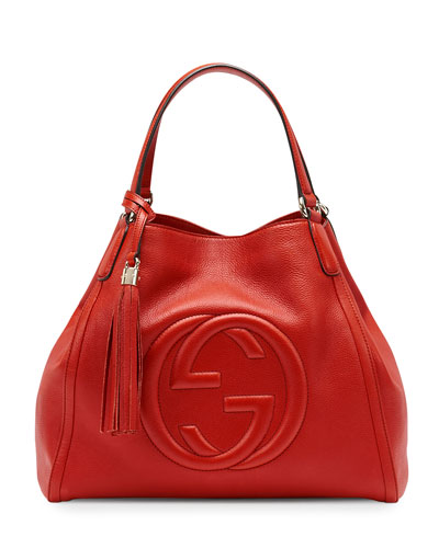 Gucci Red Soho Shoulder Bag 18