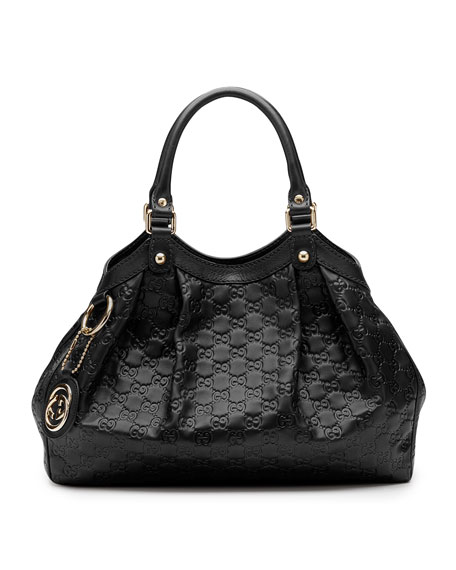Sukey Medium Tote Bag, Black