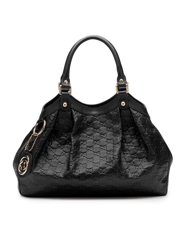 Sukey Medium Tote Bag Black
