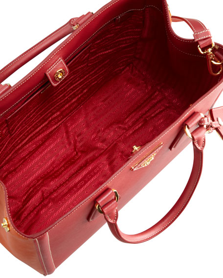 Saffiano Bicolor Tote Bag,