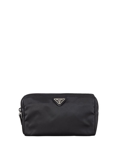 Vela Cosmetic Bag, Black (Nero)