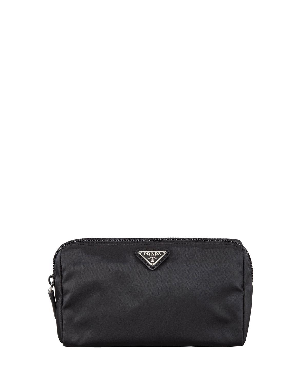 e7e34a8b6ea8 Prada Vela Cosmetic Bag, Black (Nero) | Neiman Marcus