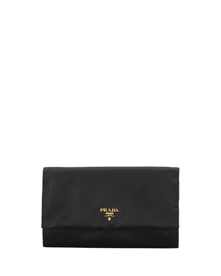 Tessuto Jewelry Roll, Black