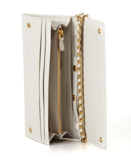 46e47683001bd Prada Saffiano Wallet on Chain