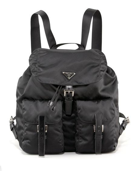 Vela Backpack, Nero