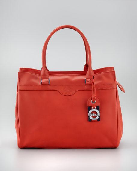 Au Sultan Zip-Top Tote Bag, Paprika
