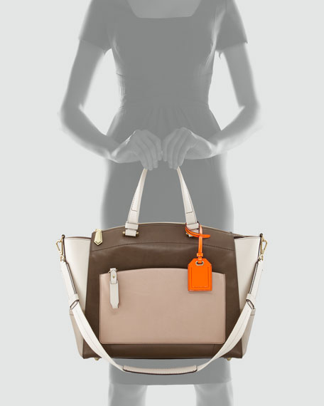 Uniform Satchel Bag, Neutral