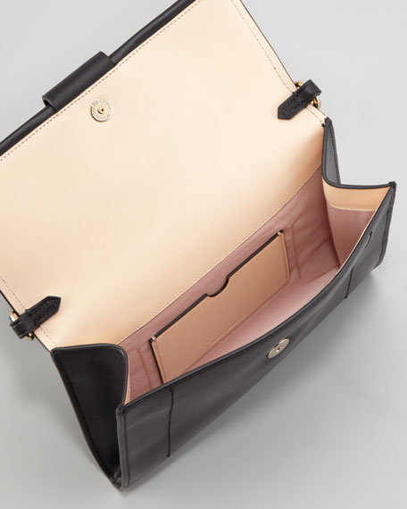 Kit Clutch Bag, Black