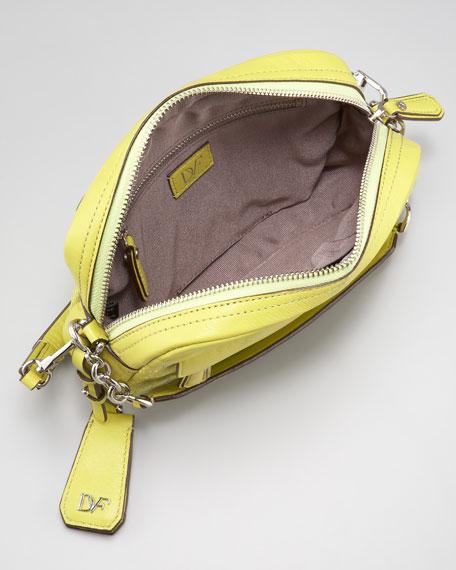 Milo Quilted Mini Bag, Citrine