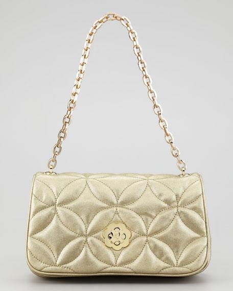 Dance Clutch Bag, Gold