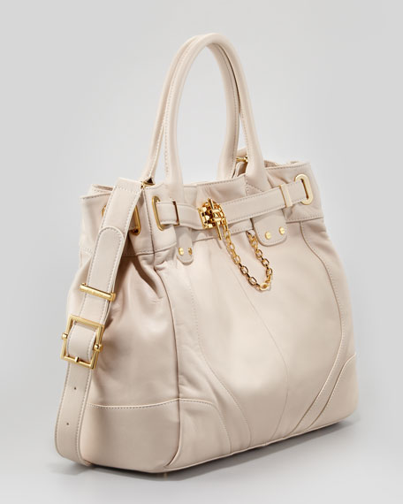 Zoe Deux Large Tote Bag, Light Beige
