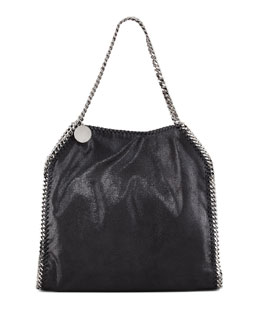 Stella McCartney Baby Bella Faux Leather Tote Bag, Black