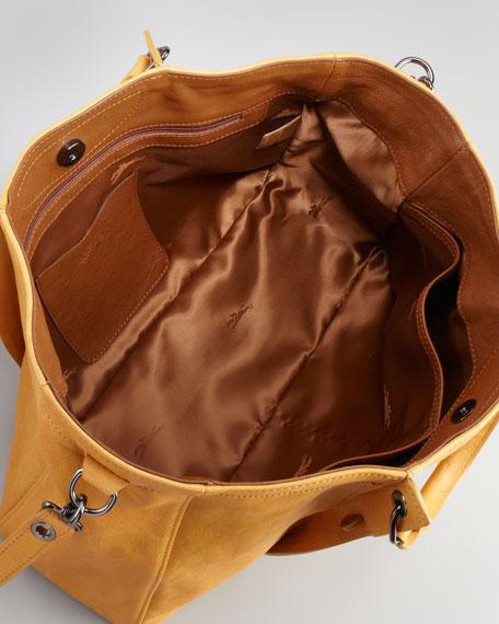 3D Logo Small Tote Bag, Honey