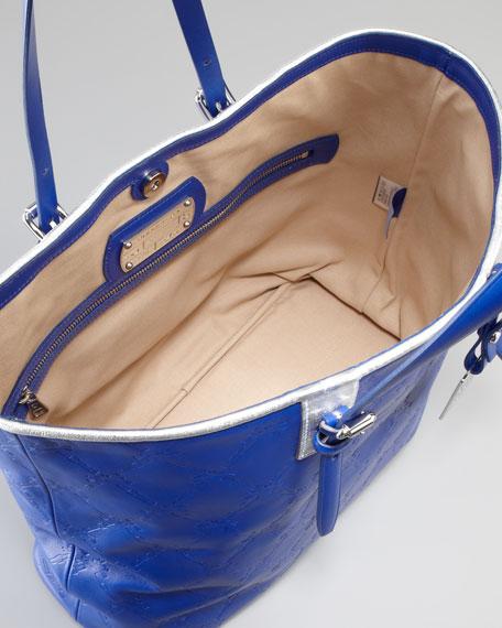 LM Cuir Large Tote Bag, Indigo
