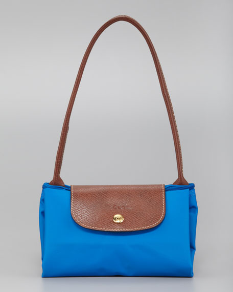 Le Pliage Small Shoulder Tote Bag, Ultramarine