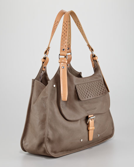 Balzane Roots Shoulder Bag, Clay