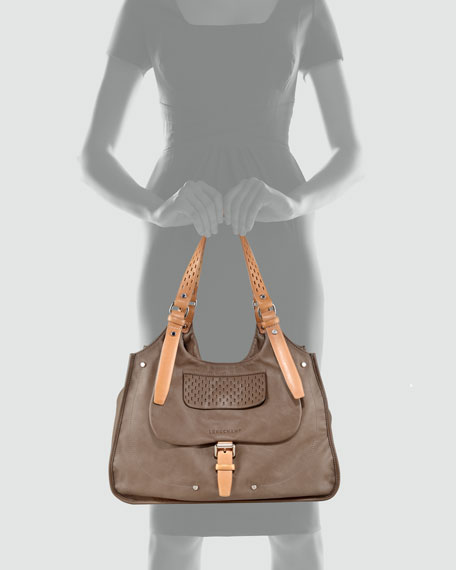 Balzane Roots Shoulder Bag, Clay