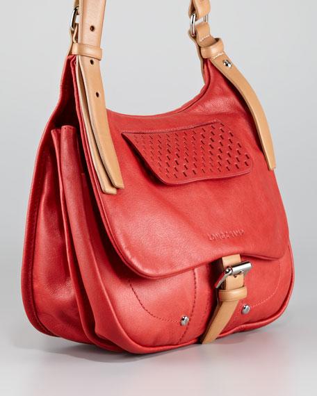 Balzane Roots Crossbody Bag, Vermillion
