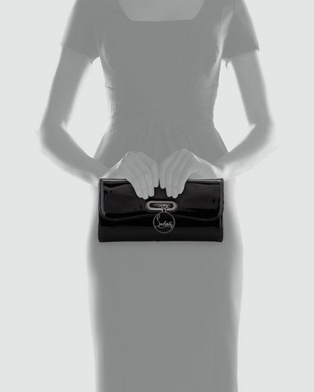 Riviera Patent Clutch Bag