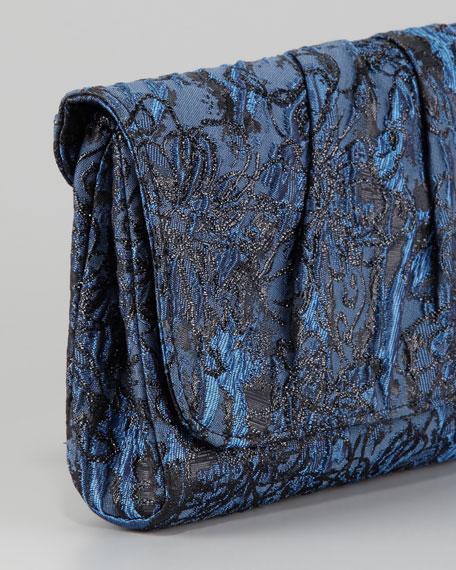 Caroline Floral Silk Brocade Clutch Bag