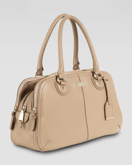 Village Satchel Bag, Sandstone