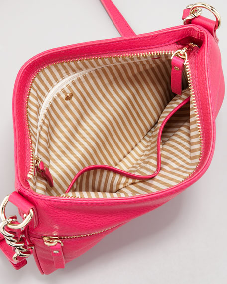 cobble hill ellen crossbody bag, pink