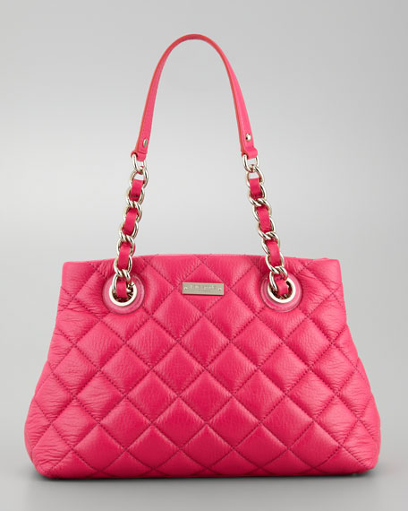 gold coast small maryanne tote bag, pink