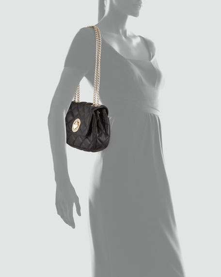 gold coast christy shoulder bag, black