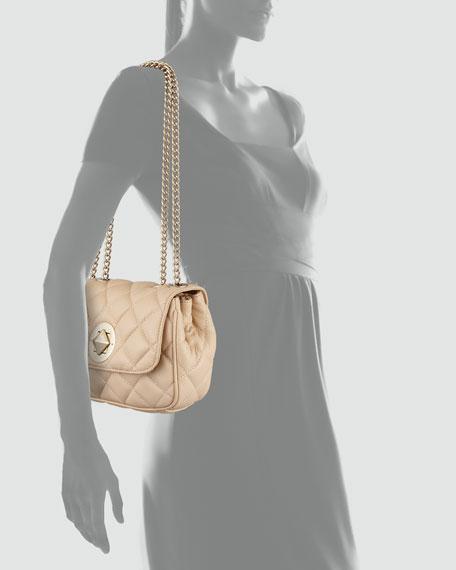 gold coast christy shoulder bag, cream