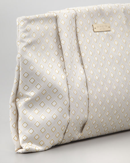 wedding belles jacquard april clutch bag