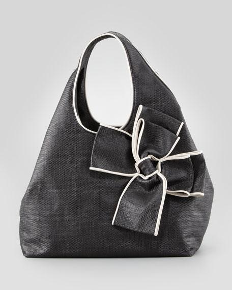 hope avenue audrina hobo bag, crudo/black