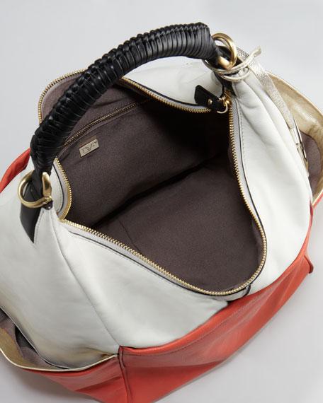 Franco Colorblock Hobo Bag