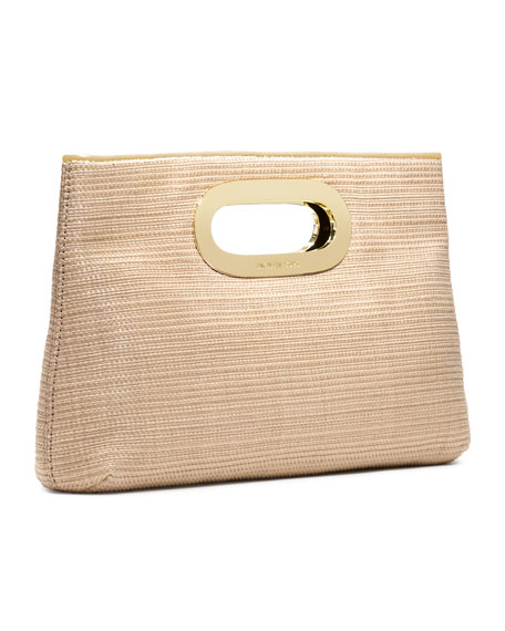Berkley Straw Clutch