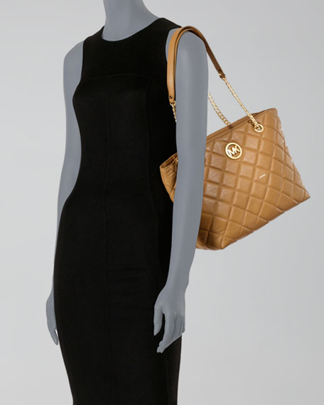 Large Fulton Quilted Tote