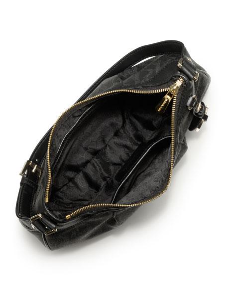 Medium Jet Set Logo Shoulder Bag