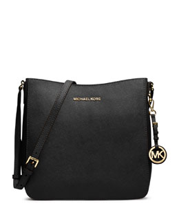 MICHAEL Michael Kors  Large Jet Set Travel Messenger Bag