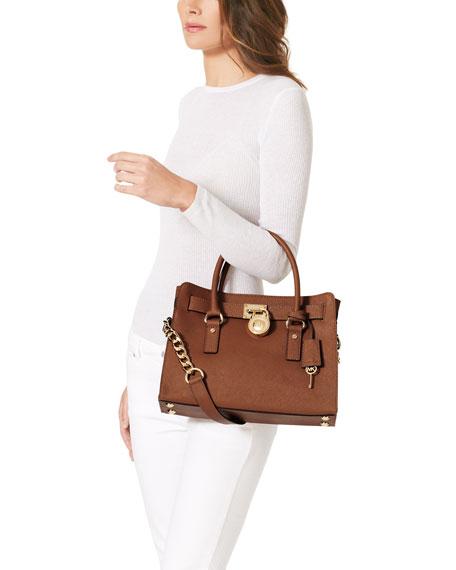 Hamilton Saffiano Satchel Bag Luggage