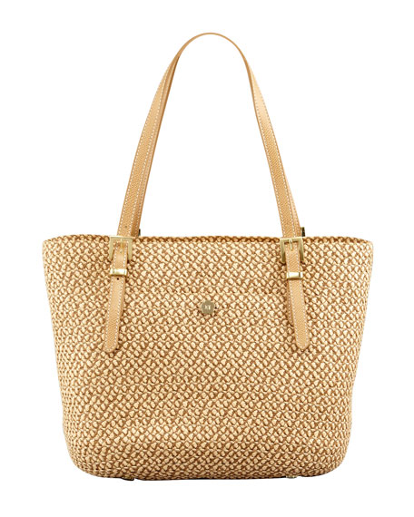 Eric Javits Jav Squishee Tote Bag, Natural