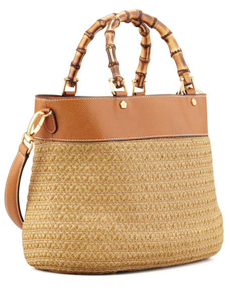 Analu Squishee Tote Bag, Natural