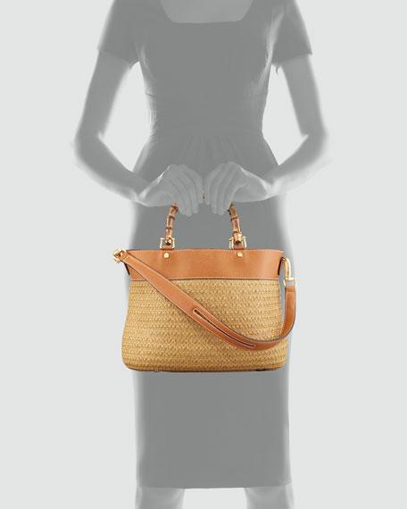Analu Squishee Tote Bag, Natural