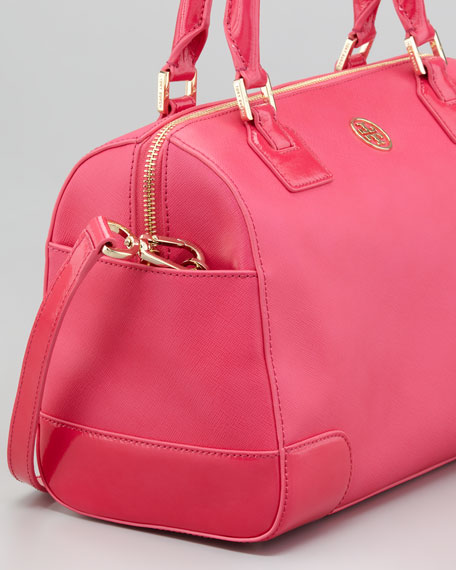 Robinson Middy Satchel Bag, Pink