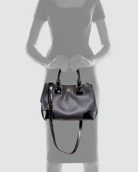 Robinson Square Mini Tote Bag, Black