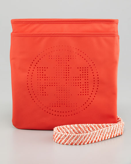 Perforated Logo Swingpack Bag
