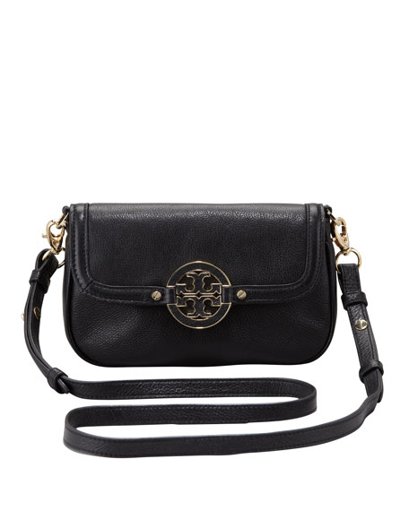 Amanda Classic Crossbody Bag, Black