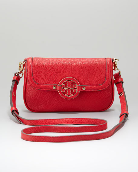Amanda Classic Crossbody Bag, Red