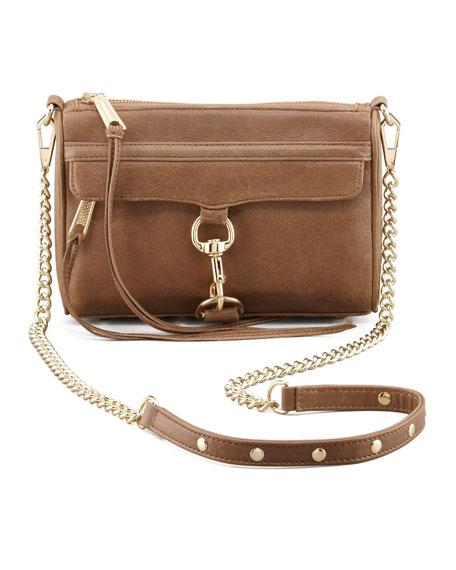 Mini M.A.C. Crossbody Bag, Taupe