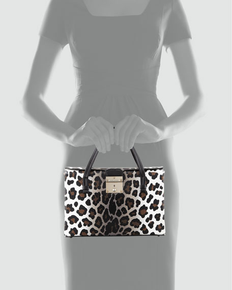 The Carnaby Tote Bag, Leopard