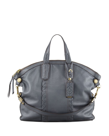 Cassie Convertible Tote Bag, Slate